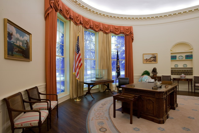 Atlanta-Carter-Museum-Oval-Office