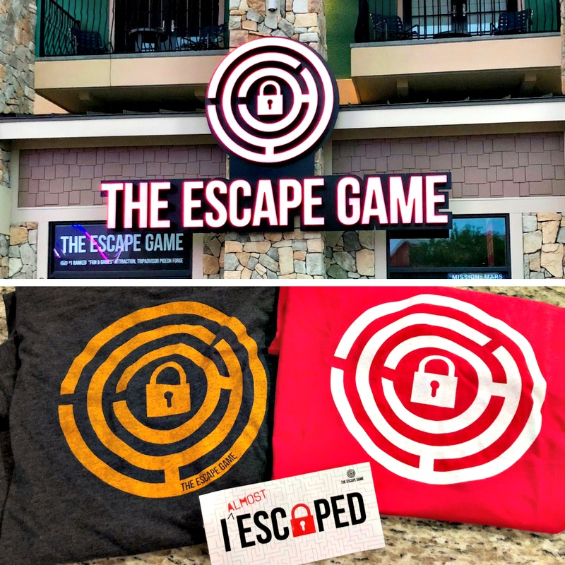 escape game pigeon forge tn
