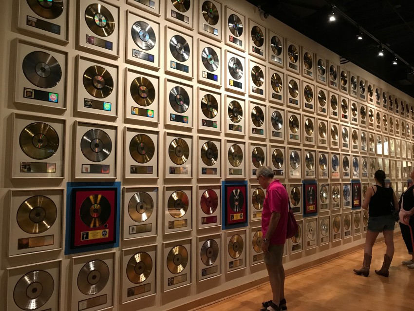 country music hall gold records of fame Nashville