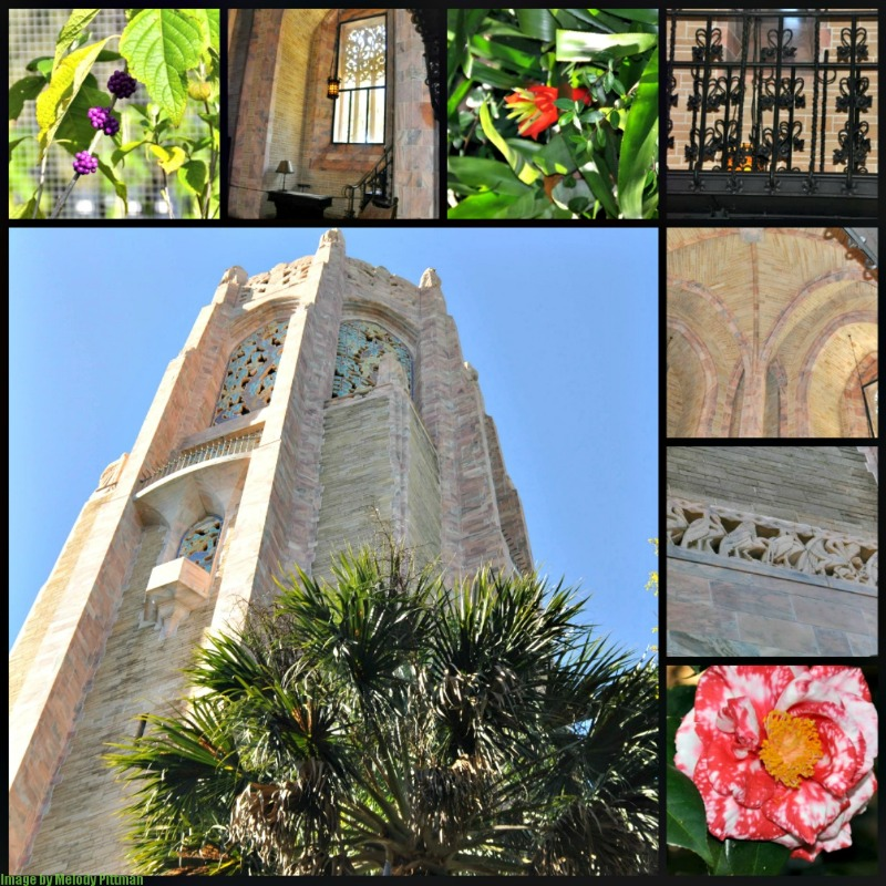 bak tower gardens attraction collage