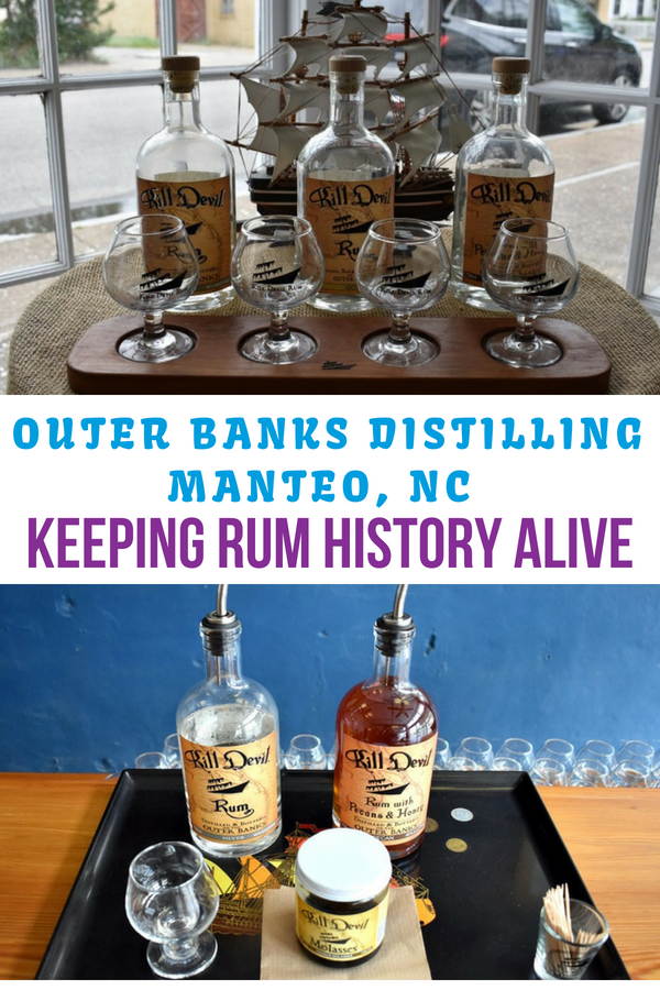 outer banks distilling in Manteo nc