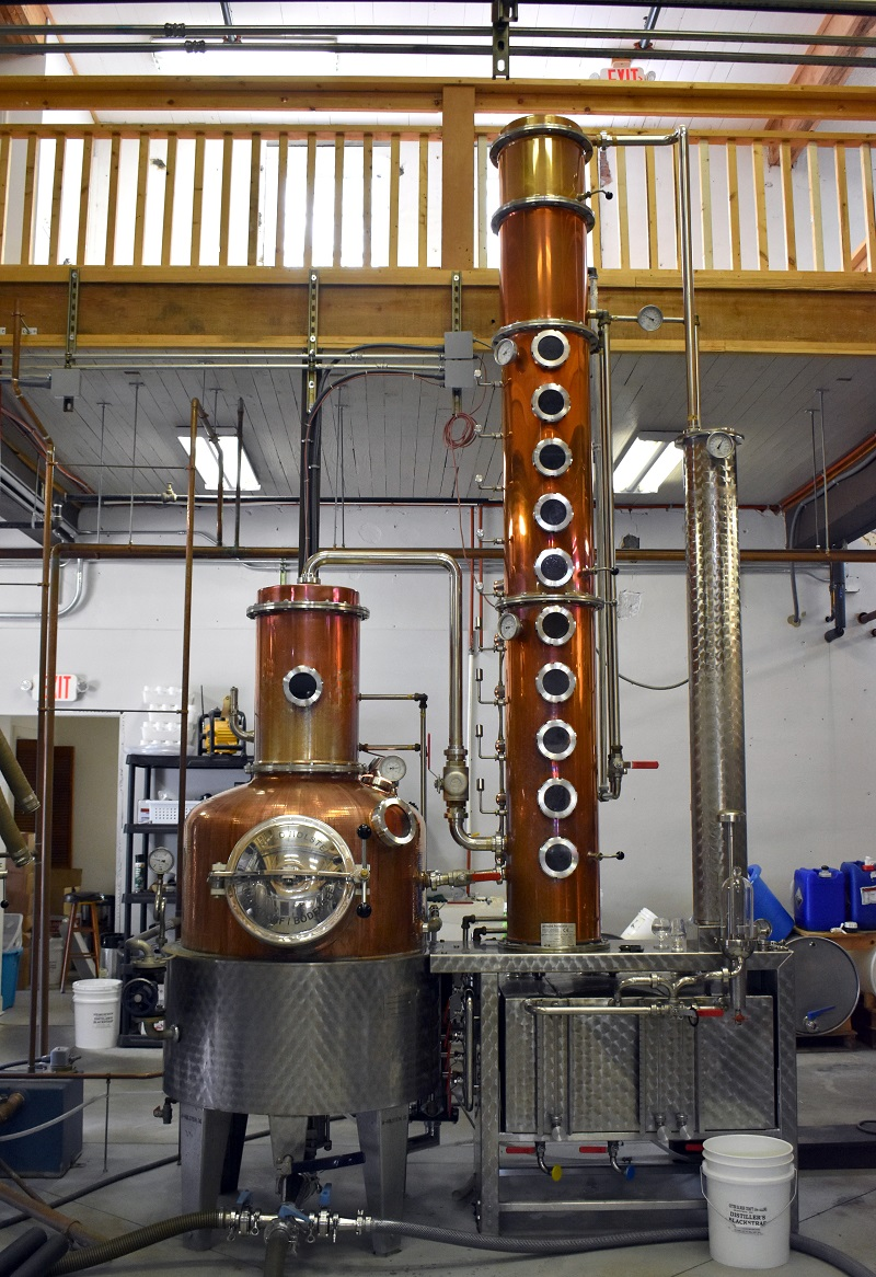 outer banks distilling equipment and tasting room