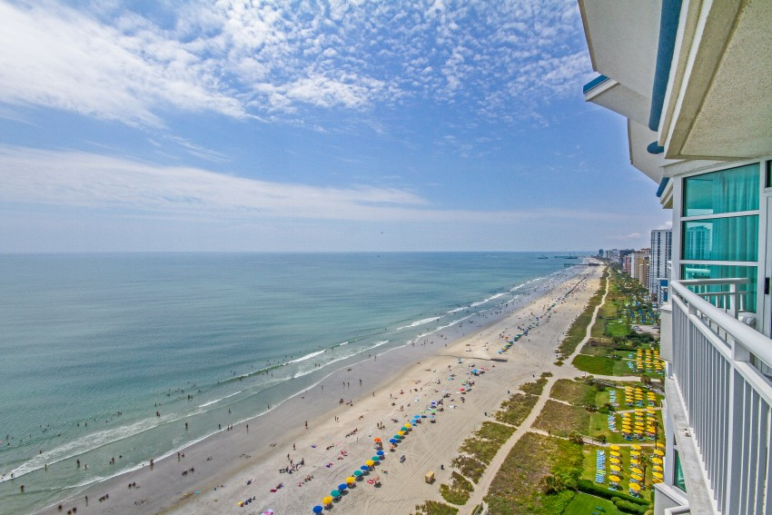 balcony view Oceana Resorts myrtle beach