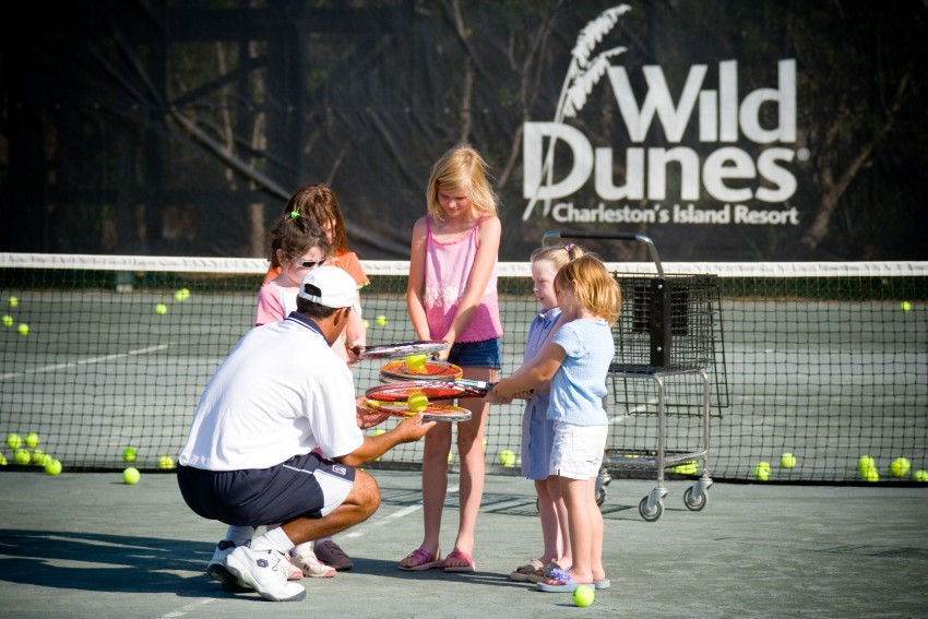 tennis options wild dunes resort