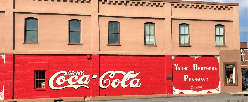 oldest Coca Cola sign Bartow County