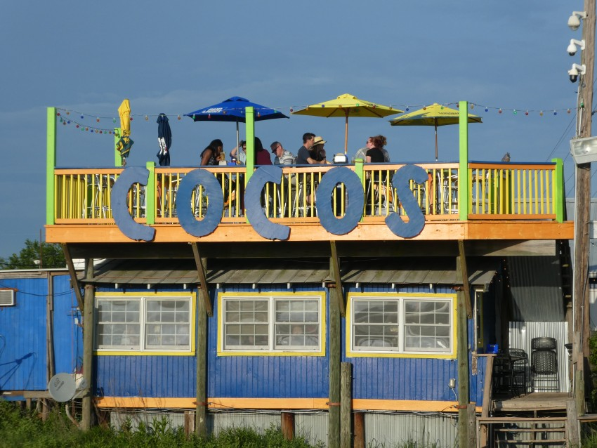 cocos sunset grille Tybee Island