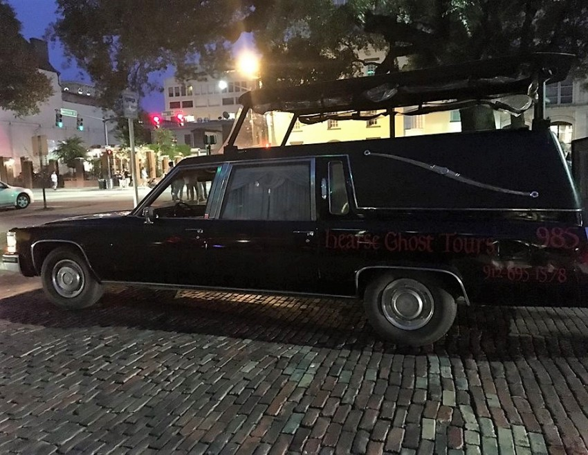 hearse ghost tours savannah