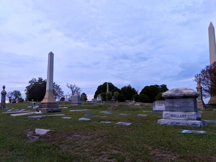 riverside cemetery spirits in October event