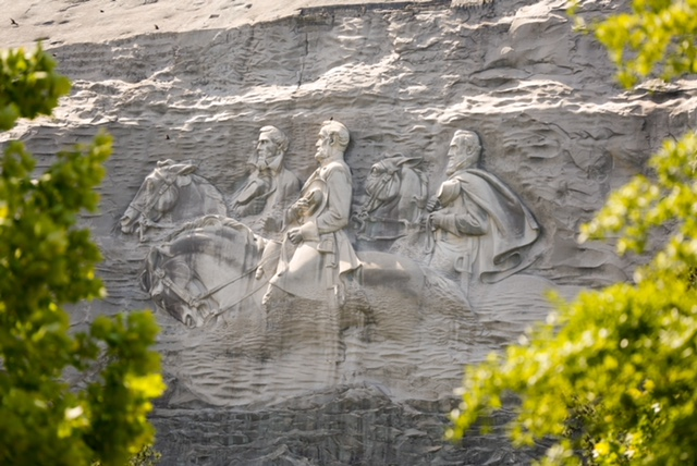 Stone Mountain is a cool thing to see in Atlanta in the 21st century.