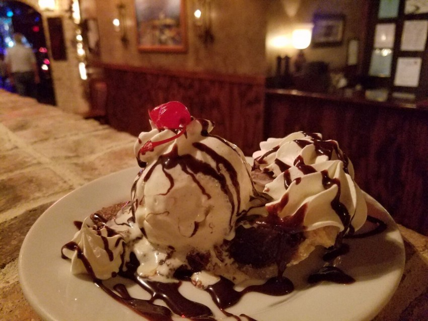 Making the most out of 24 hours in Gulf Shores, Alabama includes eating dessert at Nolans.