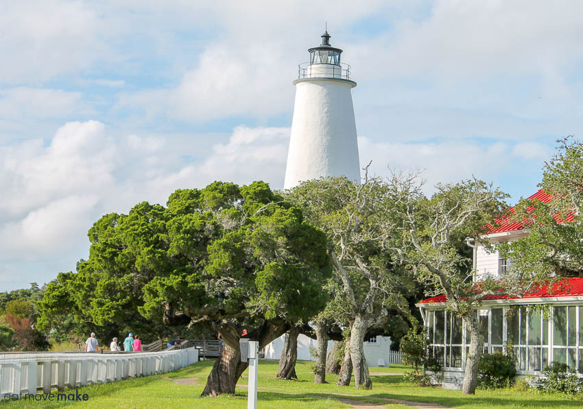 The beautiful Ocracoke Island Lighthouse is something you must see in North Carolina.