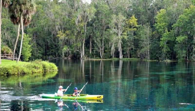 Silver Springs State Park in Ocala, Florida