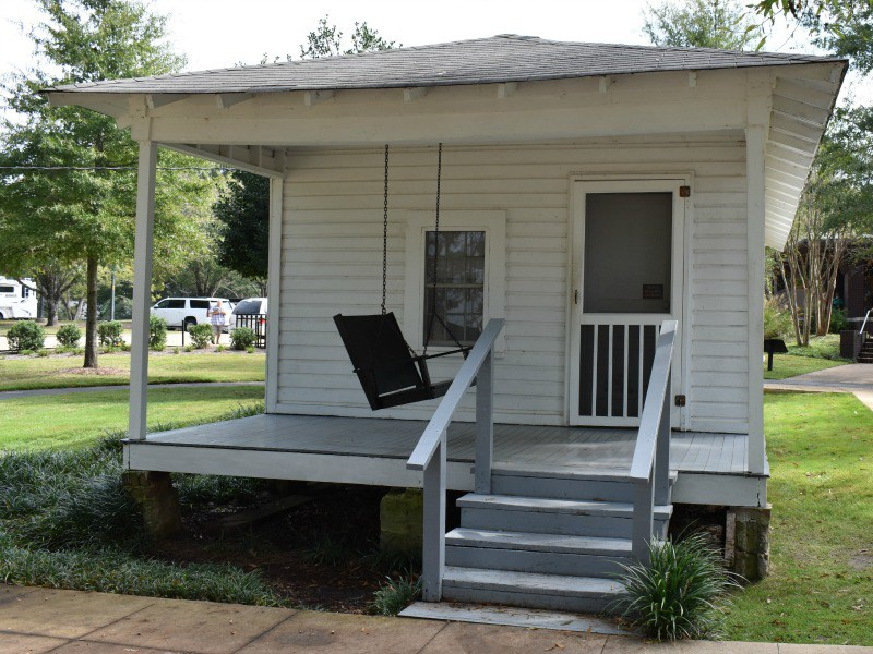 Visit the Elvis Presley Birthplace in Tupelo, Mississippi.