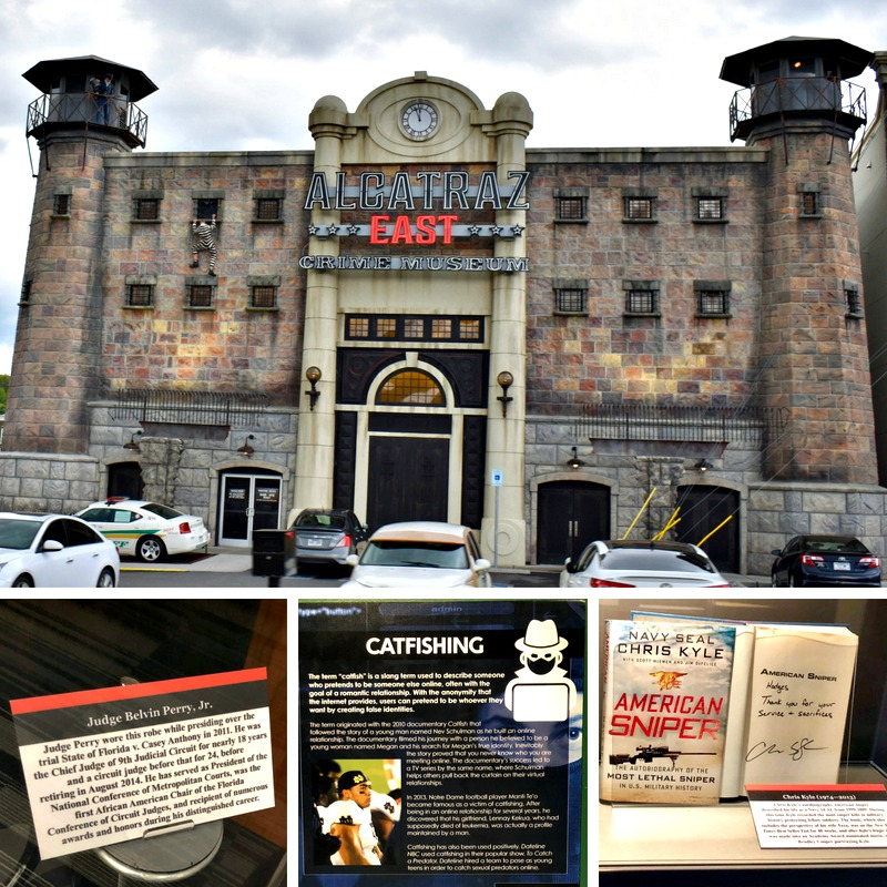 One of 10 things for Millennials to do in Pigeon Forge is visit the Alcatraz East museum.