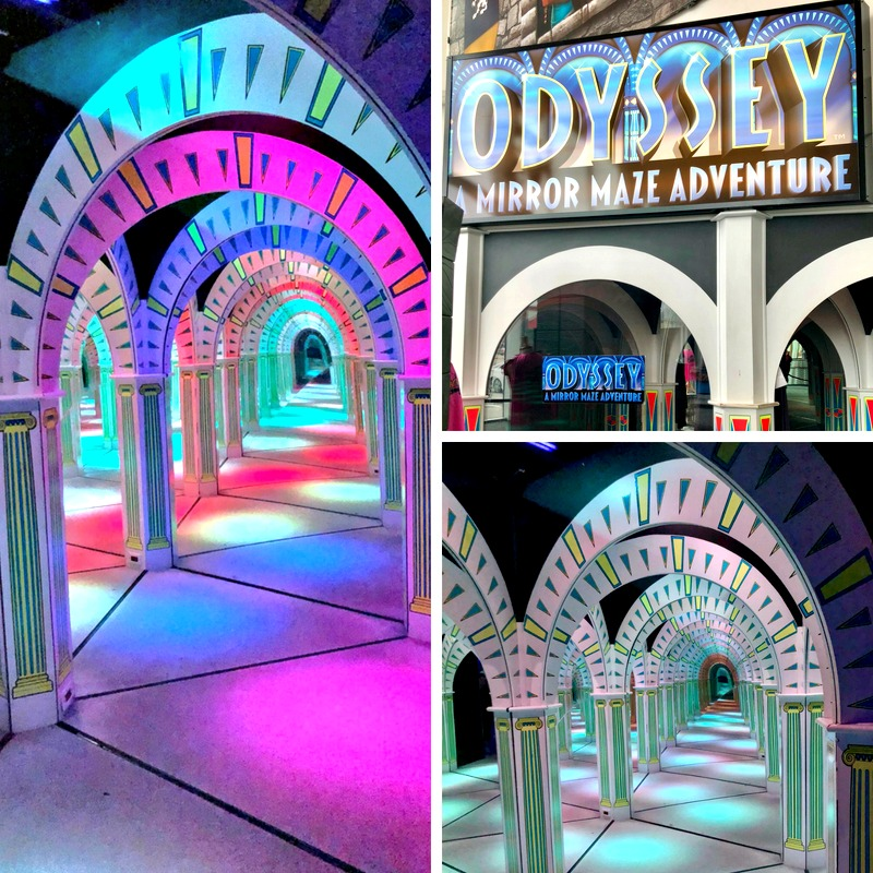 One of 10 things for Millennials to do in Pigeon Forge is the Odyssey Mirror Maze Adventure.