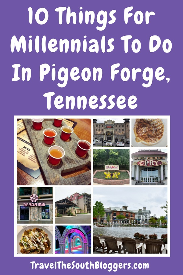 Check out our epic list of 10 things for millennials to do in Pigeon Forge, Tennessee.