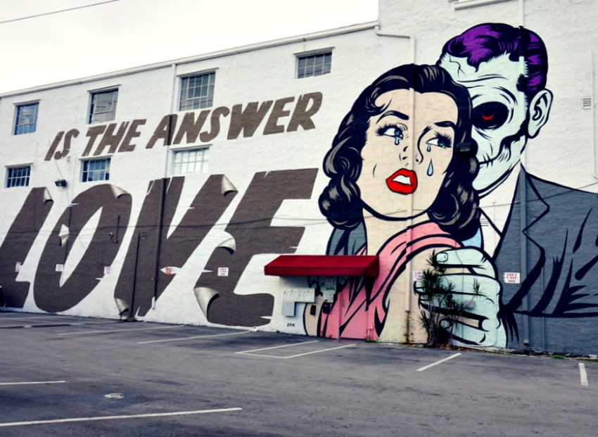 Miami's street art scene is simply known as Wynwood Walls.