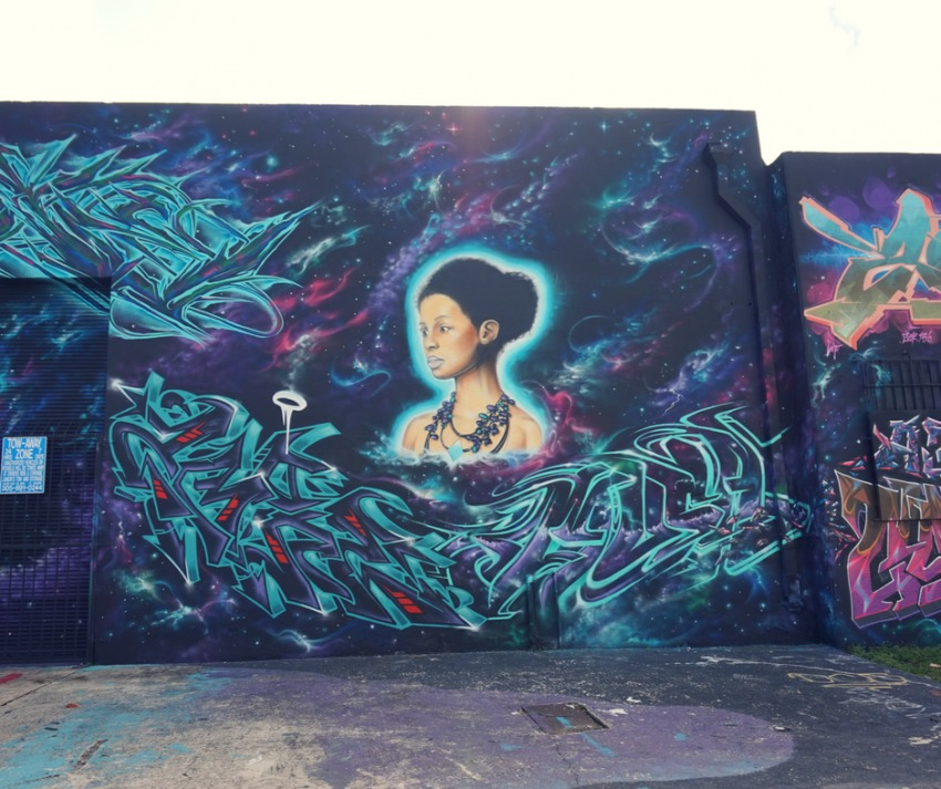 Wynwood is Miami's street murals area of town.