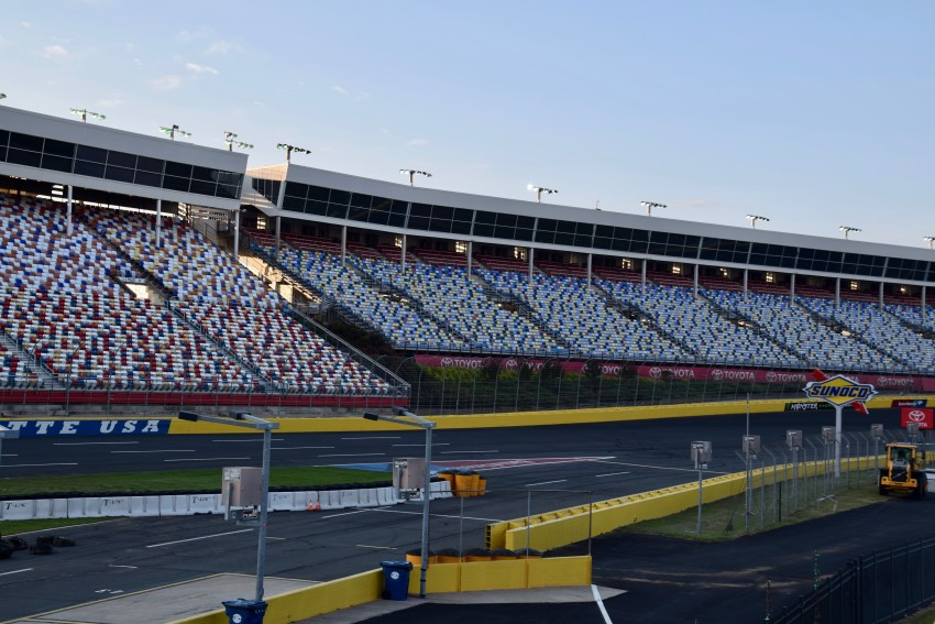 Adrenaline junkies love the Charlotte Motor Speedway in North Carolina.