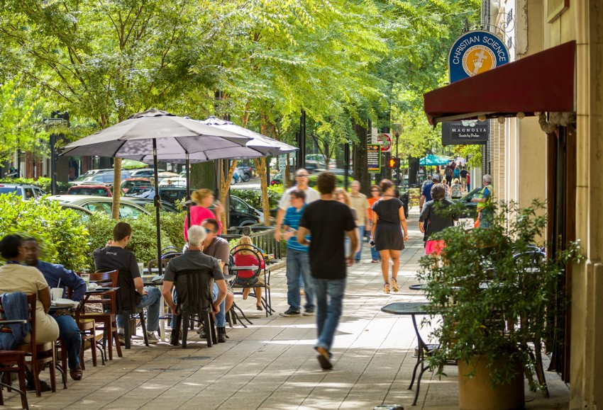 Greenville, South Carolina is our featured destination this week on Travel the South.