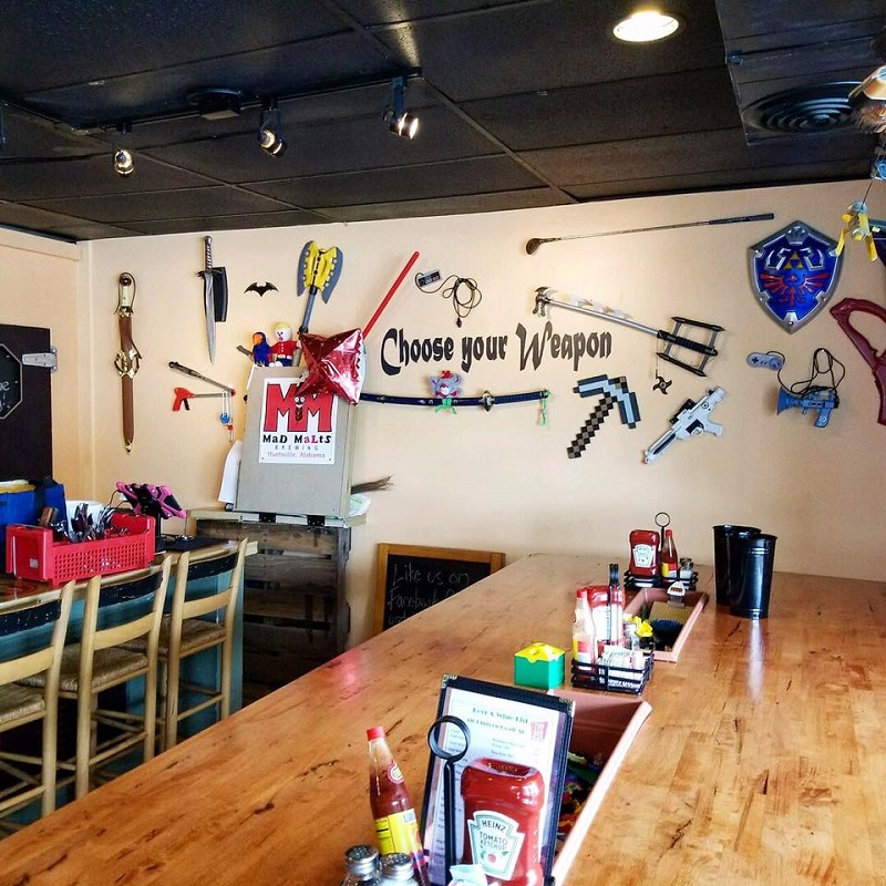 Let us show you how to explore the perfect weekend in Huntsville, Alabama. including a nerd-friendly meal from Toybox Bistro.
