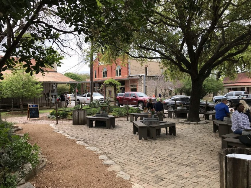 The charming town of Gruene, Texas is not to be missed on a trip to Texas Hill Country.