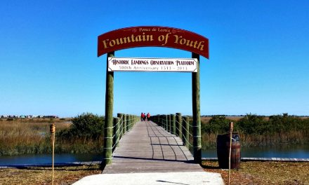 Visiting the Fountain of Youth in St. Augustine, Florida