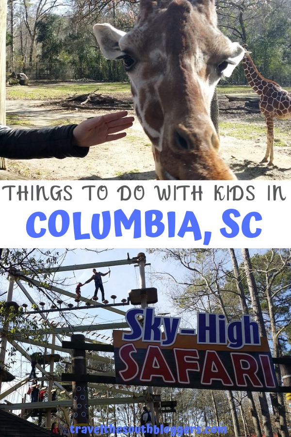things to do with kids in Columbia pin
