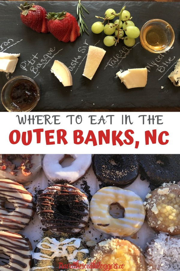 where to eat outer banks North Carolina pin