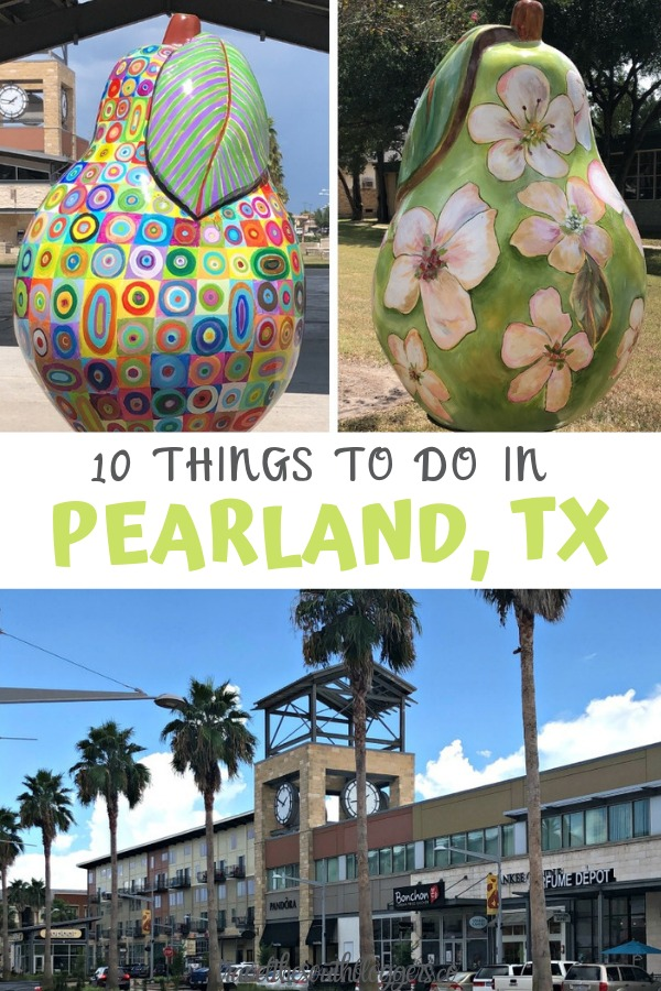 things to do Pearland texas pin