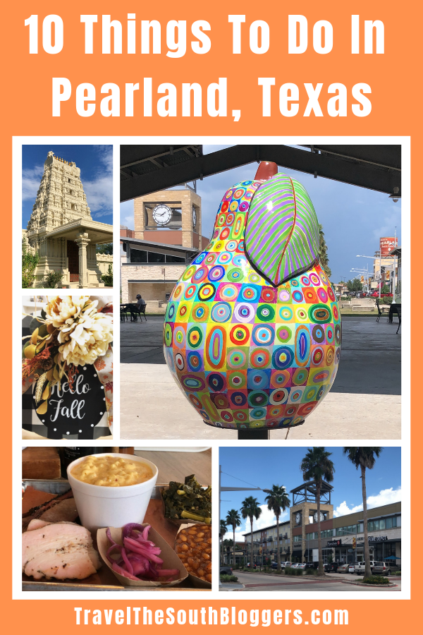 Here are 10 fun things to do in the city of Pearland, Texas.