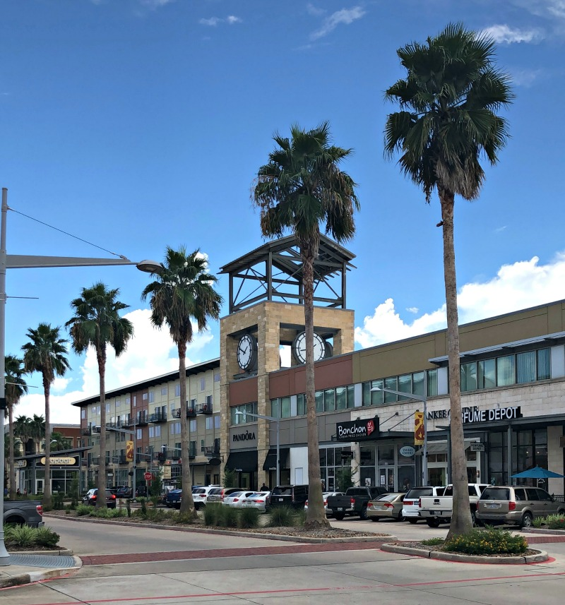 Shopping is just one of the things to do in Pearland, Texas.