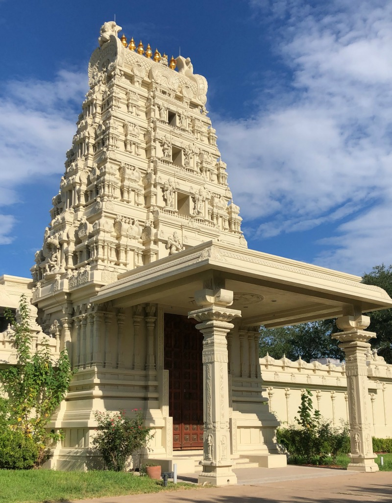 Visiting the Sri MeenakshI Temple is one of our things to do in Pearland, Texas.