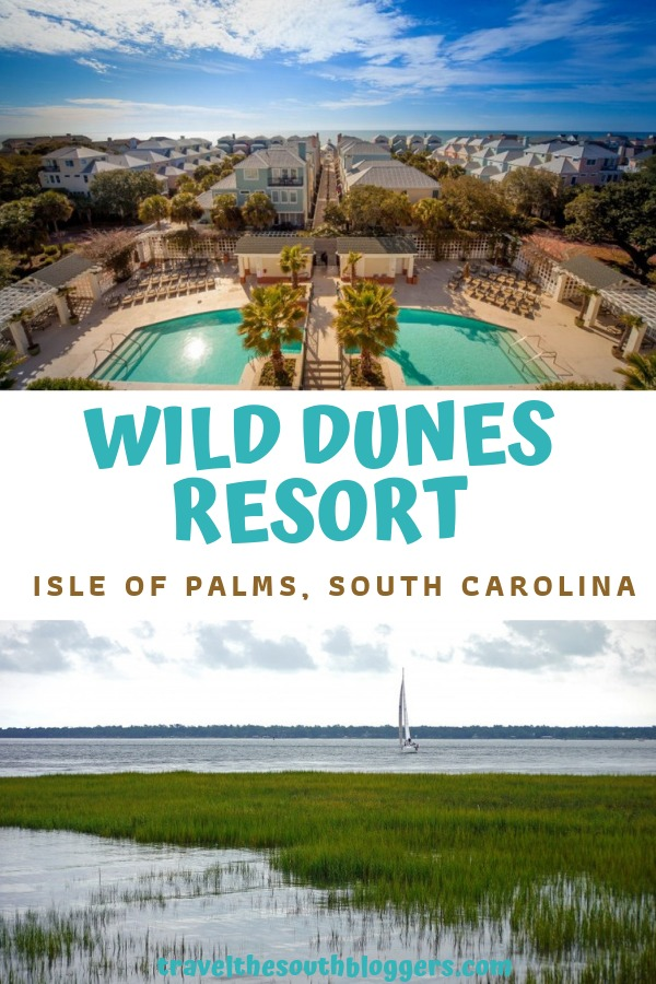 wild dunes resort pin