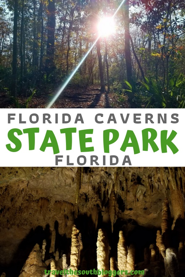 florida caverns state park pin