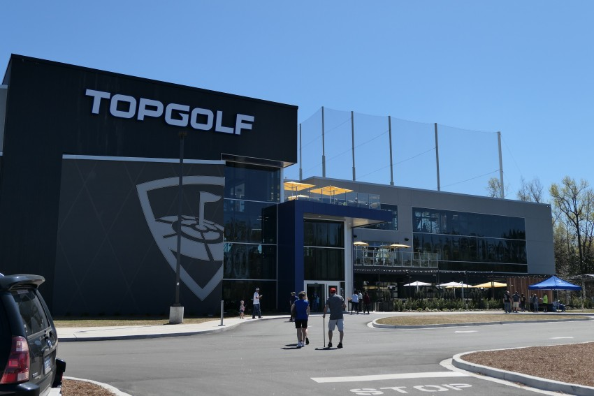 topgolf at broadway at the beach