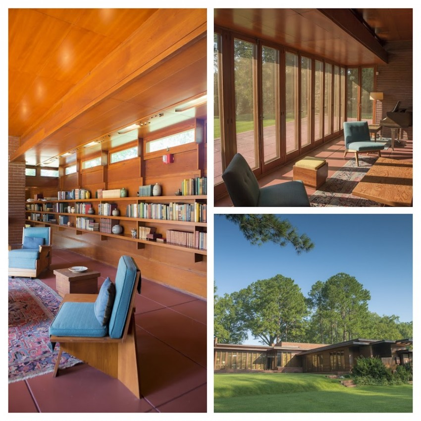 Frank Lloyd Wright-Rosenbaum Home