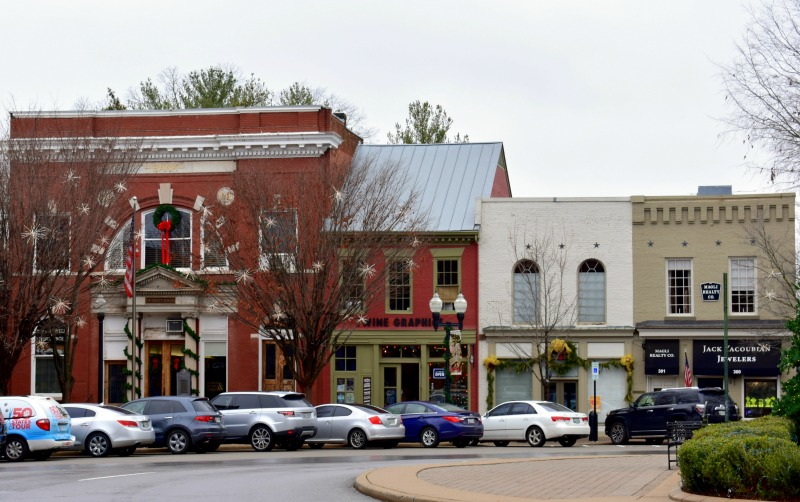 downtown Franklin Tennessee