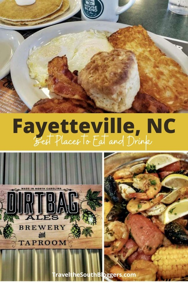 eating and drinking in fayetteville nc