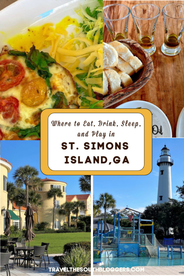 what to do st simons island