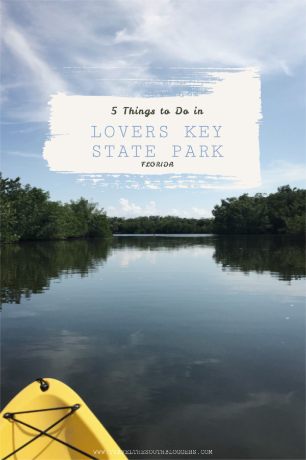 lovers key state park pin