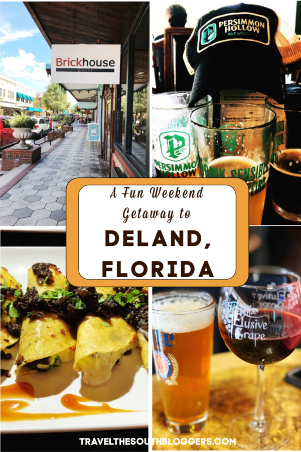 itinerary for deland Florida