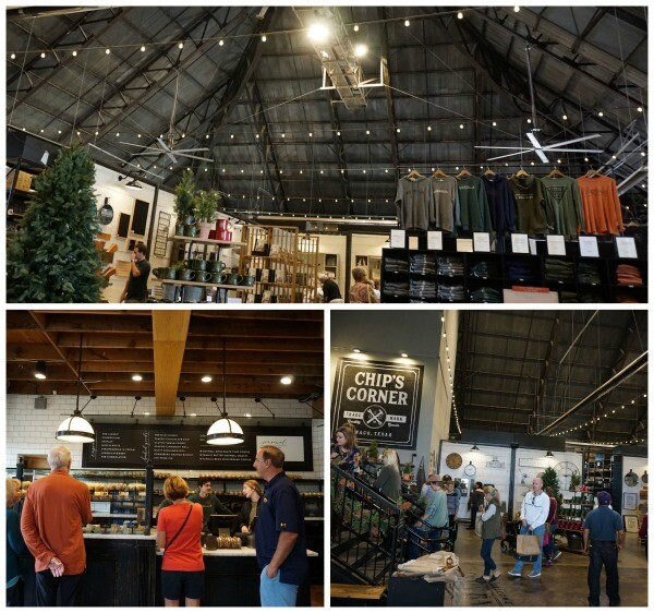 magnolia market shopping and dining