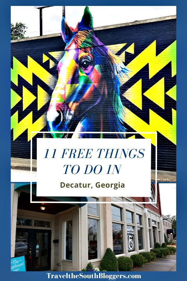 free things to do in decatur ga