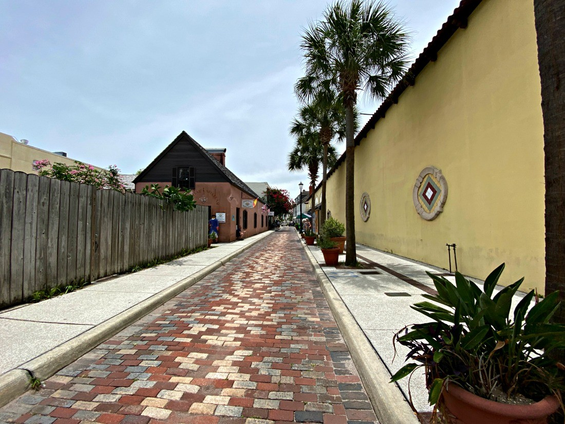 historic part of st augustine