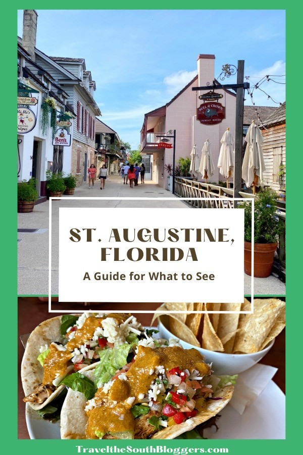 what to see in st augustine fl