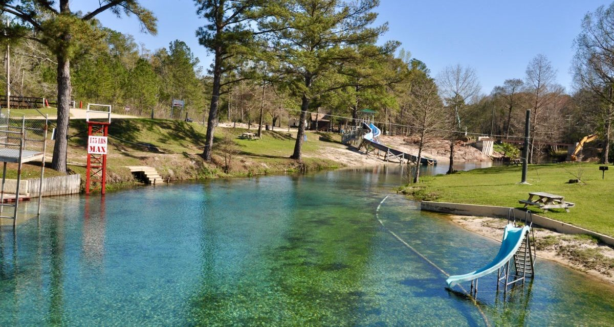Dive and Swim at Vortex Spring, Ponce De Leon, FL