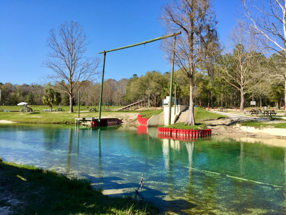 vortex springs swimming area