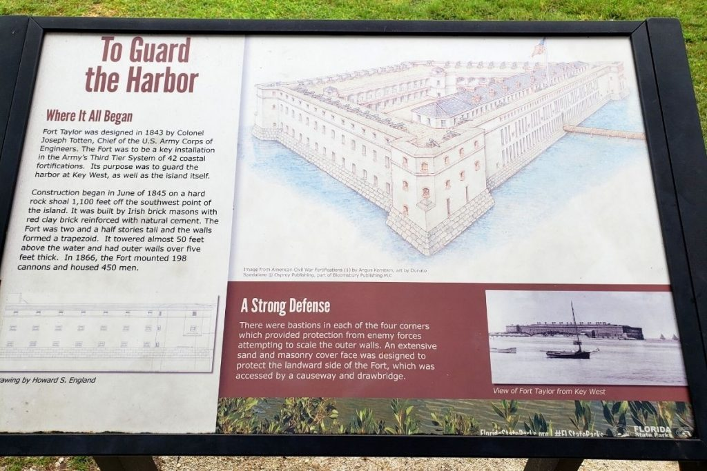 fort-zachary-taylor-state-park-sign