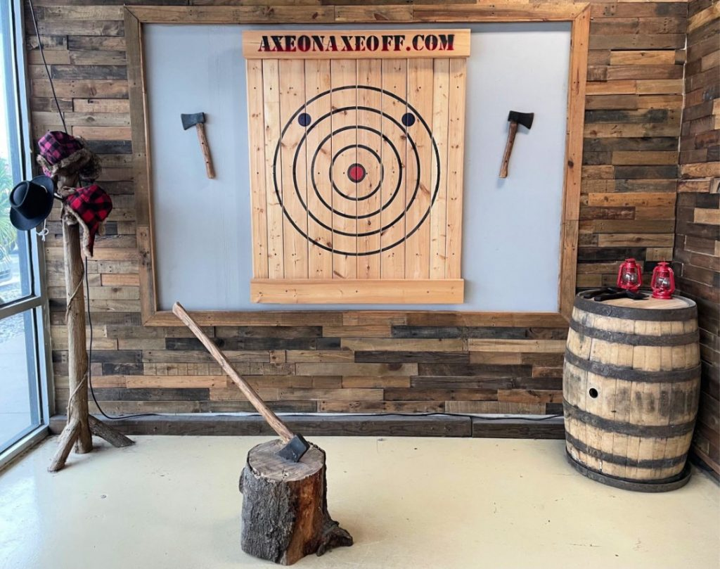 axe throwing target orlando florida